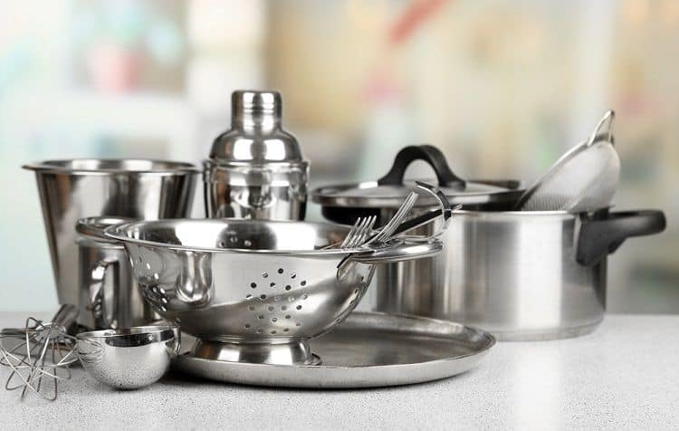 stainless steel pan care