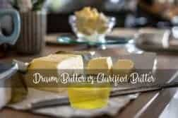 Drawn Butter vs Clarified Butter